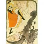DToys-66978-TL06 Jigsaw Puzzle - 515 Pieces - Henri de Toulouse-Lautrec : Jane Avril, Poster