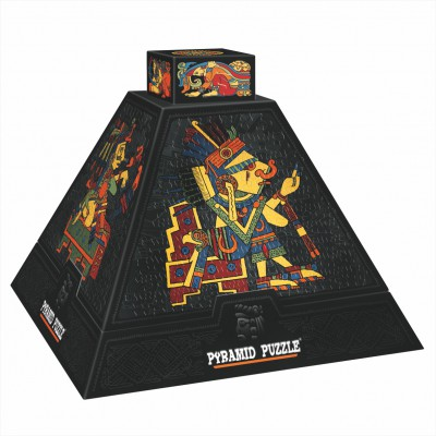 DToys-66992 Jigsaw Puzzle - 504 Pieces - 3D Pyramid - Pre-Columbian Art