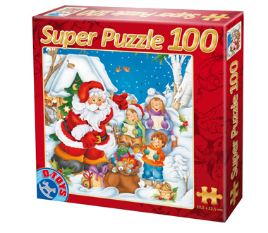 Puzzle Dtoys-67333-XM-02 Song for Santa Claus