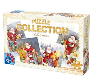 Puzzle Dtoys-67340-XM-01 The Father Christmas and the children