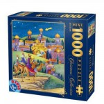 DToys-67371CM01 Jigsaw Puzzle - 1000 Mini Pieces - Christmas Collection : Arriving in Town