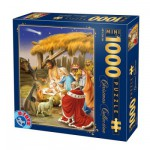 DToys-67371CM02 Jigsaw Puzzle - 1000 Mini Pieces - Christmas Collection : The Birth