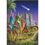 DToys-67371CM03 Jigsaw Puzzle - 1000 Mini Pieces - Christmas Collection : The Evening Star