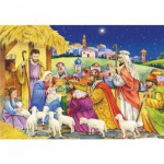 DToys-67371CM04 Jigsaw Puzzle - 1000 Mini Pieces - Christmas Collection : The Three Wise Men