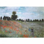 DToys-67548-CM01 Jigsaw Puzzle - 1000 Pieces - Monet : Poppies