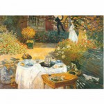 DToys-67548-CM02 Jigsaw Puzzle - 1000 Pieces - Monet : Breakfast