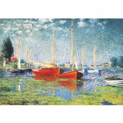 DToys-67548-CM04-(69665) Jigsaw Puzzle - 1000 Pieces - Monet : Argenteuil