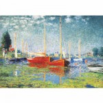 DToys-67548-CM04 Jigsaw Puzzle - 1000 Pieces - Monet : Argenteuil
