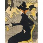 Puzzle  Dtoys-67555-VP-17 Henri de Toulouse-Lautrec: Divan Japonais