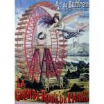 Puzzle  Dtoys-67555-VP-18 La Grande Roue de Paris