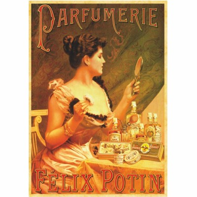 DToys-67555-VP07 Jigsaw Puzzle - 1000 Pieces - Vintage Posters : Perfumery