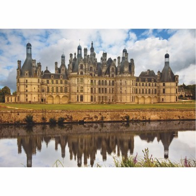 Dtoys-67562-FC01-(67562) Jigsaw Puzzle - 1000 Pieces - Castles of France : Château de Chambord