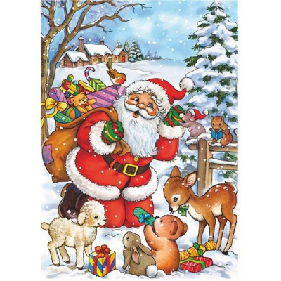 DToys-67616-CH03 Jigsaw Puzzle - 35 Pieces - Christmas Collection : Were you Good this Year ?
