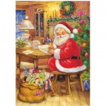 DToys-67623-CH03 Jigsaw Puzzle - 48 Pieces - Christmas Collection : So Many Letters