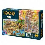 Puzzle  Dtoys-67760-CC-03