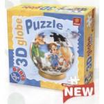 Dtoys-67814 Globe Puzzle - Pinnochio