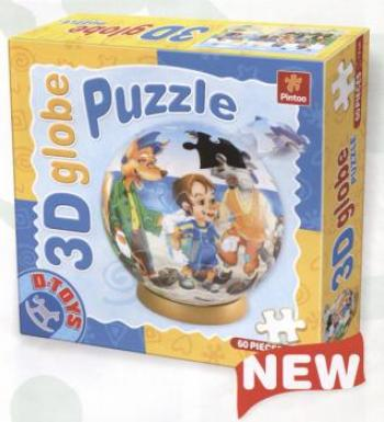Dtoys-67814-GP-01 Globe Puzzle - Pinnochio