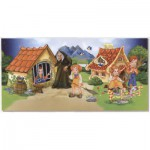 Dtoys-67814-GP-03 Globe Puzzle - Hansel and Gretel