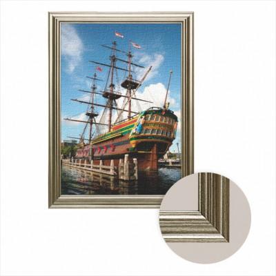 Puzzle Dtoys-68217-AP-01 Frame + canvas: Nederlands Scheepvaart Museum, Amsterdam