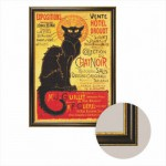 Dtoys-68217-AP-04 Frame + canvas: The black cat