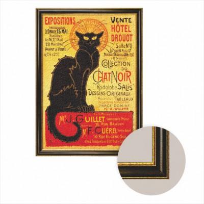 Puzzle Dtoys-68217-AP-04 Frame + canvas: The black cat