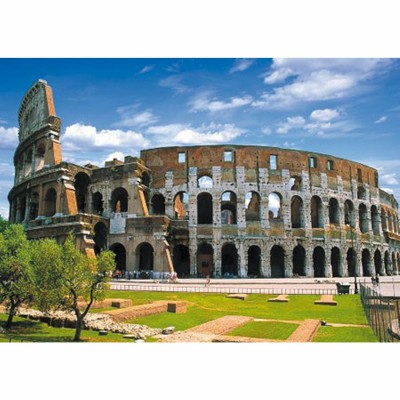 Dtoys-69269 Jigsaw Puzzle - 500 Pieces - Landscapes : Colosseum, Rome