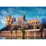 DToys-69337 Jigsaw Puzzle - 500 Pieces - Landscapes : Notre Dame Cathedral, Paris