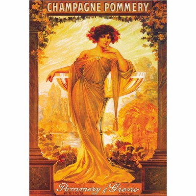 Dtoys-69474 Jigsaw Puzzle - 1000 Pieces - Vintage Posters : Champagne Pommery