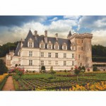 Dtoys-69528 Jigsaw Puzzle - 1000 Pieces - Castles of France : Château de Villandry