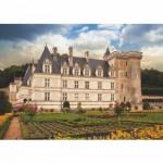 Dtoys-69528 Jigsaw Puzzle - 1000 Pieces - Castles of France : Château de Villandry