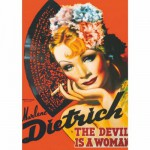 Dtoys-69559 Jigsaw Puzzle - 1000 Pieces - Marlene Dietrich : The Devil is a Woman