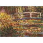 DToys-69658 Jigsaw Puzzle - 1000 Pieces - Monet : Japanese Foot-Bridge