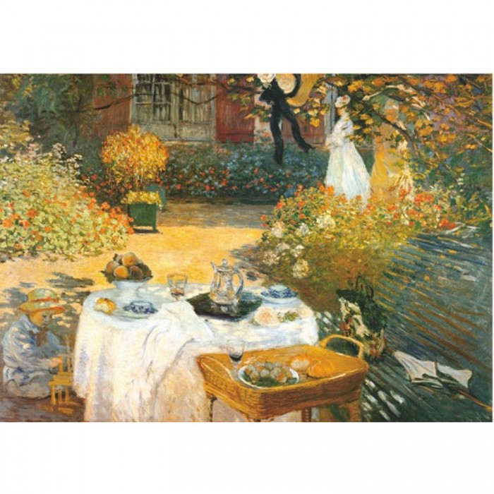 Jigsaw Puzzle - 1000 Pieces - Monet : Breakfast
