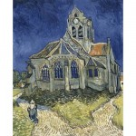 DToys-70173 Jigsaw Puzzle - 1000 Pieces - Van Gogh : The Church at Auvers