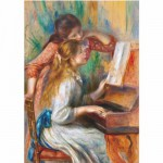 DToys-70272 Jigsaw Puzzle - 1000 Pieces - Renoir : Two Young Girls at the Piano