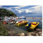 DToys-70364 Jigsaw Puzzle - 1000 Pieces -- Discovering Europe : Corfu, Greece