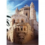 DToys-70579 Jigsaw Puzzle - 1000 Pieces - Famous Places : Jerusalem, Israel