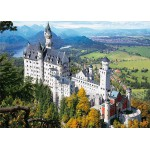 Dtoys-70654 Jigsaw Puzzle - 1000 Pieces - Famous Places : Neuschwanstein Castle, Germany