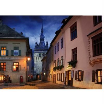 DToys-70708 Jigsaw Puzzle - 1000 Pieces - Romania : Schasburg, Sighisoara