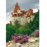 DToys-70715 Jigsaw Puzzle - 1000 Pieces - Romania : Bran Castle
