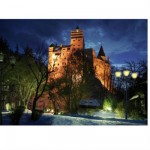 DToys-70746 Jigsaw Puzzle - 1000 Pieces - Romania : Bran Castle
