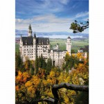 DToys-70784 Jigsaw Puzzle - 1000 Pieces - Landscapes : Neuschwansstein Castle