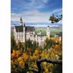 DToys-70784 Jigsaw Puzzle - 1000 Pieces - Landscapes : Neuschwansstein Castle