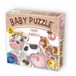 Dtoys-71262-BP-01 6 Puzzles - Baby Puzzle - Farm Animals