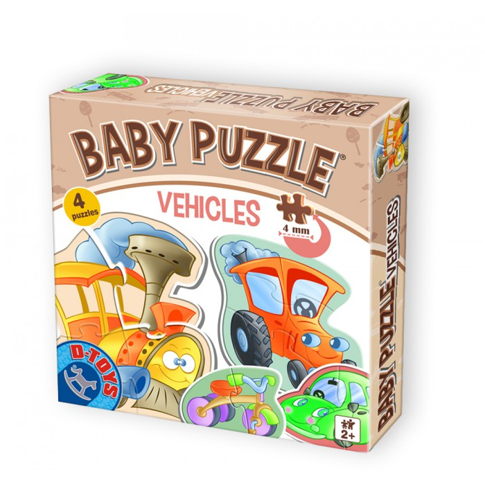 4 Jigsaw Puzzles - Baby Puzzle