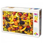 Puzzle  Dtoys-71958 Fruits
