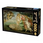 Puzzle  Dtoys-72672-BO01-(72672) Sandro Botticelli - The Birth of Venus