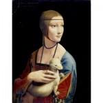 Puzzle  Dtoys-72689-DA-02 Leonardo da Vinci: Lady with an Ermine