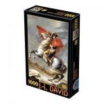 Puzzle  Dtoys-72719-DA01-(72719) David Jacques-Louis: Bonaparte Crossing the Alps