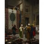 Puzzle  Dtoys-72726 Jean-Léon Gérôme: Carpet Merchant in Cairo, 1887